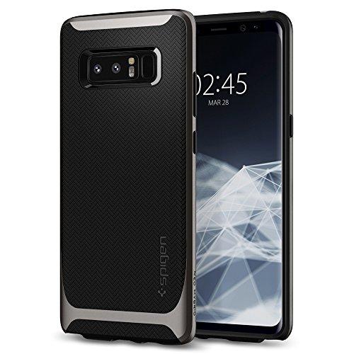Spigen Samsung Galaxy Note 8 Hülle, [Neo Hybrid] Doppelschichter Schutz 2-teilige Schutzhülle für Samsung Note 8 Case Gunmetal (587CS22084)