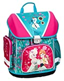 Disney Frozen - Die Eiskönigin Elsa Anna Olaf - Schulranzen Schultasche für Kinder, blau/pink, 39 x 28 x 16 cm