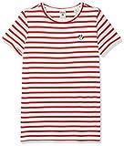 Scotch & Soda R´Belle Mädchen T-Shirt Felix Ams Blau Regular Fit Short Sleeve Tee with Small Embr, Mehrfarbig (Combo A 21), 140 (Herstellergröße: 10)