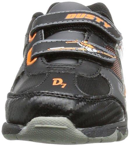 Planes Boys Kids Athletic Sport, Sneakers Basses Garçon Multicolore (black/black/black/d.grey/d.orange)