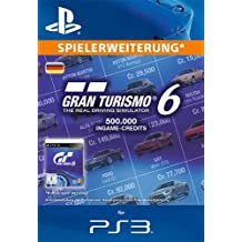 GT6:  500.000 Ingame-Credits [Zusatzinhalt] [PSN Code für deutsches Konto]