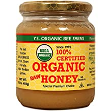 Y.S. Eco Bee Farms, 100% Certified Organic Raw Honey (454 gm) Item Package Quantity 1(ONE)
