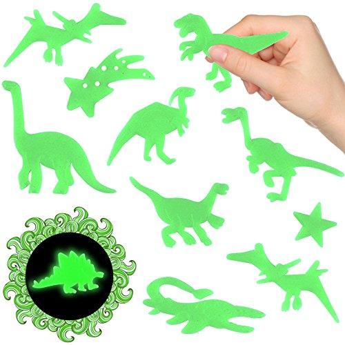 - 24 x Magische Dinosaurier ★ Nachtleuchtend ★ ┃ ★ NEU ★ ┃ ++ Kinderzimmer ++ ┃ Mitgebsel ┃ Kindergeburtstag ┃ Dinos ┃ 1 Pack / 24 Dinosaurier (Dinosaurier-geburtstag)
