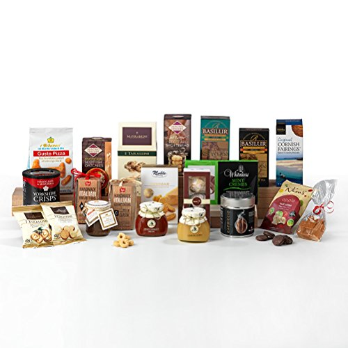 Hay Hampers Traditional Time For Tea - Non-Perishable Food Hamper Box - FREE UK Delivery