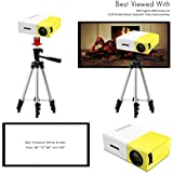 Mini Portable Design Projector Concise Efficient Compact YG300 LCD Projector 400-600 LM 320x240 Pixels Home Media Player