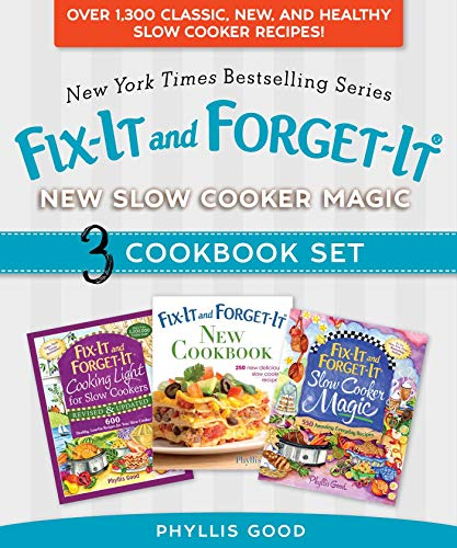 Fix-It and Forget-It New Slow Cooker Magic Box Set: Over 1,300 Classic, New, and Healthy Slow Cooker Recipes (English Edition)