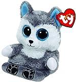 Carletto Ty 00011 - Scout - Husky mit Glitzeraugen, Peek-A-Boos, Smartphonehalter, 15cm