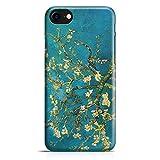 ItalianCaseDesign Cover Custodia Protettiva Van Gogh - Ramo di Mandorlo in Fiore Quadro Dipinto Arte Compatibile con iPhone 7-7 Plus - 8-8 Plus (Selezionare Il Modello)