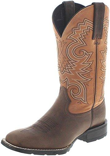 Durango Boots Mustang DDB0082 Dark Brown Peanut/Herren Westernreitstiefel Braun/Westernstiefel/ Herrenstiefel Dunkelbraun, Groesse:44 (10.5 US) -