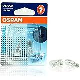 Osram W5W 12V 5W Standard Halogen Lampen, Birnen E-ZUGELASSEN Made in Germany