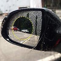Wasserdicht Regendicht Spiegel Fenster Klar Schutzfolie D DOLITY 2pcs Auto R/ückspiegel Regendicht Film