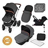 Ickle Bubba Stroller, Baby Travel System | Bundle incl Rear and Forward-Facing Pushchair