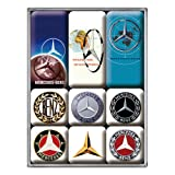Nostalgic-Art 83103 Logo de Mercedes-Benz Evolution