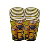 Minion - Paper Cups , Minion Theme Birth...