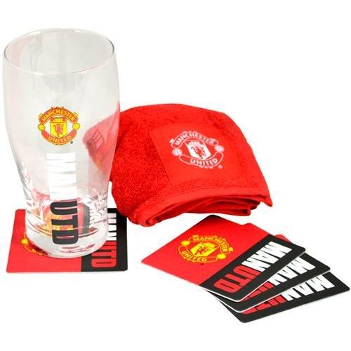 Manchester United Arbeit Mark Mini Bar Set-Mehrfarbig