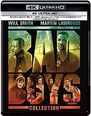Bad Boys Trilogy: Bad Boys + Bad Boys II + Bad Boys for Life (4K UHD) (3-Disc)