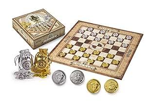 Noble Collection NN7215Harry Potter, Jeux de dames avec pièces Gringott