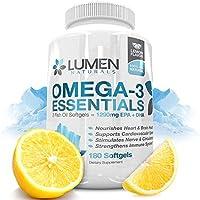Olio di Pesce Omega 3 Essentials - 180 Capsule ñ