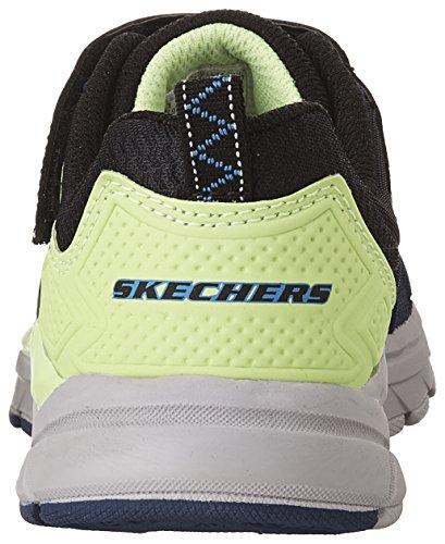 Skechers Ultrasonix 97541LNVBK, Turnschuhe marine - lime grün - schwarz