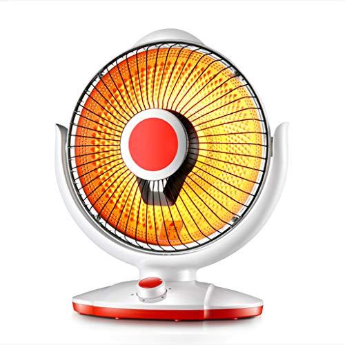 HANGESS Radiateurs à halogènes-Appareil de chauffage portatif à halogène,appareil de chauffage avecinterrupteur de sécurité,300W/600W(Blanc)