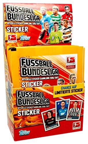 Preisvergleich Produktbild Topps - Bundesliga 2016/17 - 1 Display (50 Sticker Tüten)