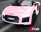 Picture Of Kalco TOYS UK - 2018 Licensed Audi R8 (Mini) 12V Electric Ride on Kids Car with Parental Remote (PINK)