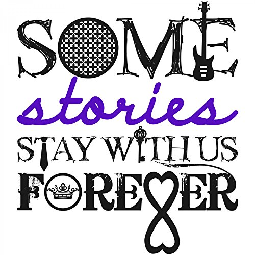 Some Stories Stay With Us Forever - Herren T-Shirt von Fashionalarm | Für Fans von beliebten Liebesromanen | Fun Shirt Spruch Fandom Fan Roman Film Verfilmung Weiß