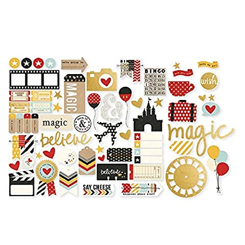 Say Cheese II Bits & Pieces Die-Cuts-With Gold Accents (Cut Accent)