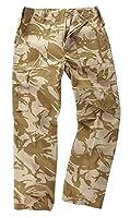 6 Pocket Camouflage Combat Cargo Trousers - British Desert (50)