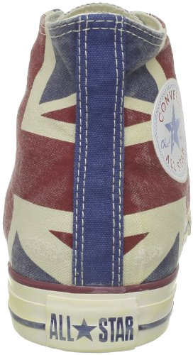 Converse Ctas Union Jack, Baskets mode mixte adulte UK Flag Distressed