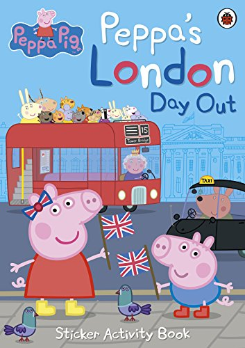 Peppa's London Day Out. Sticker Activity Book (Peppa Pig) por Vv.Aa.