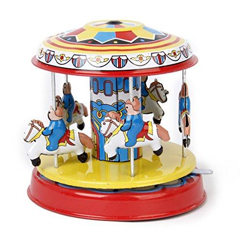 Colorato Carosello Modello Tin Toy Regalo Da
