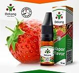Recharge e-liquide saveur FRAISE marque DEKANG pour cigarette électronique (e-cigarette) 10mL