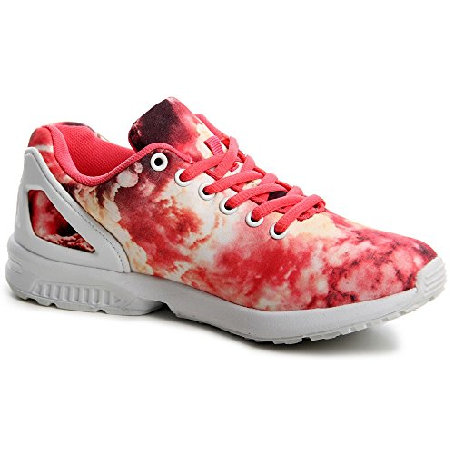 topschuhe24, Sneaker donna Rosso (rosso)