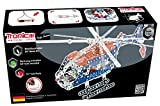 Metal Construction Model Kit Helicopter Police Heli 757 durable metal parts with real tools + picture instructions mechanical building set education learning age 14+ male adult STEM Tronico