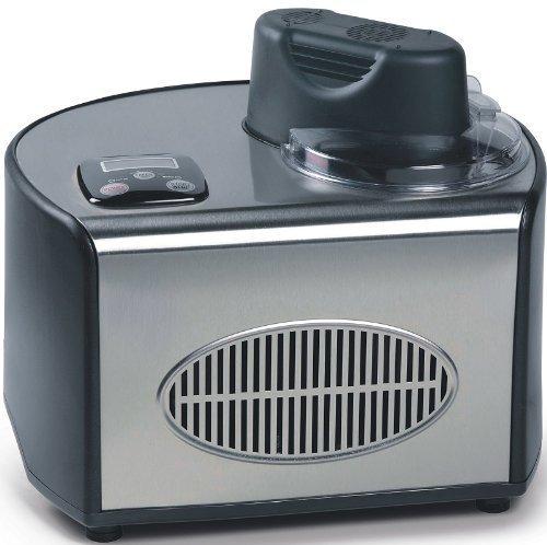Eismaschine (800g Eiscreme+Sorbet selbst herstellen, digitales Display, Kühl-Kompressor bis -31Grad)