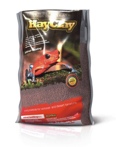 HayClay Animal Bedding Red 3Liter