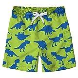 Fanient Badebekleidung Badeshorts Jungen Quick Dry Badehose Dinosaurier Hosen Shorts für Kinder 6-7 Jahre