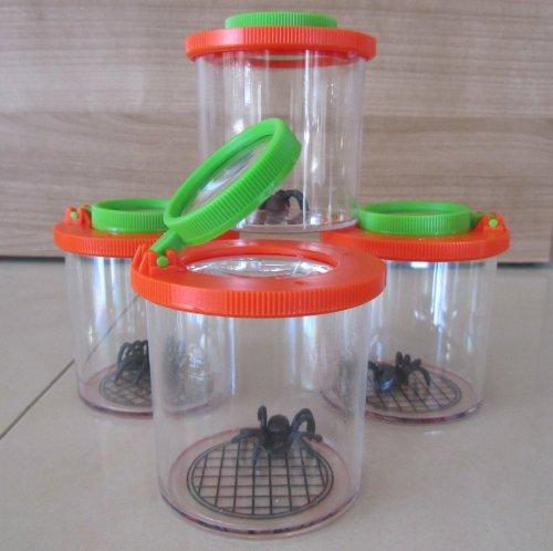 Lupe Becherlupe Lupenbecher Lupendose Maxi 10 Stück 'Hohe Qualität' 150006-10°