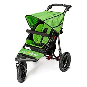 Out n About Nipper Single v4 Stroller Mojito Green   14