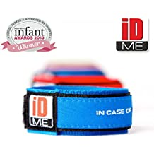 iDME Kids safety ID Wristband Blue