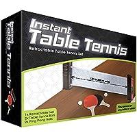 Instant - Retractable Table Tennis Set