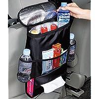 Kabalo Seggiolino Auto Organizzatore / Tidy con il sacchetto più freddo isolato e distributore di tessuti, bevande titolare frigo cooler