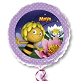 Amscan Folienballon * BIENE MAJA * für Kindergeburtstag // Party Deko Ballon Helium S60 Ballongas