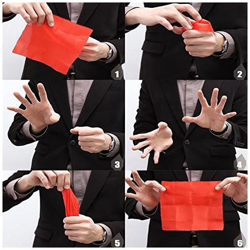 rungao-Magic-Gummi-Daumen-Spitze-mit-Seide-verschwinden-anmutendes-Finger-Trick-Requisiten-Spielzeug