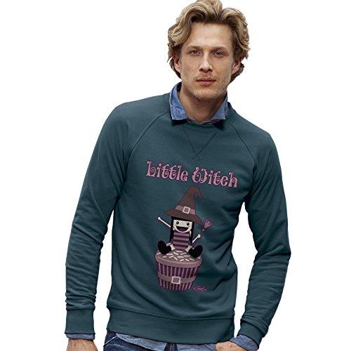 TWISTED ENVY Herren das Sweatshirt Little Witch Print X-Large Stargazer