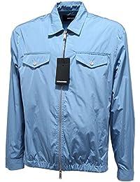 DSQUARED 5982L Giubbotto Antipioggia Uomo D2 Giubbotti Jackets Coats Men a4e24f1e5140