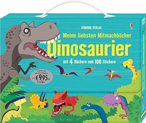 Meine liebsten Mitmachbücher: Dinosaurier (Dinosaurier-sticker-buch)