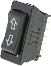 Generic Illuminated Rocker Power Lock Window Switch 5 Pin