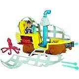 """Mattel Fisher-Price BDJ02 - Sottomarino di """"Jake e i pirati dell'isola che non c'è"""""""